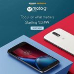 Moto G4 Plus Launch on Amazon – Starting @Rs.13,499