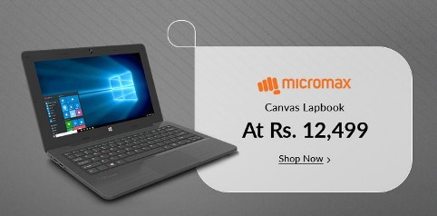 Snapdeal Micromax Canvas Lapbook L1161 Laptop