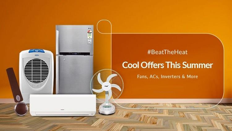 Snapdeal Summer Sale Beat the heat