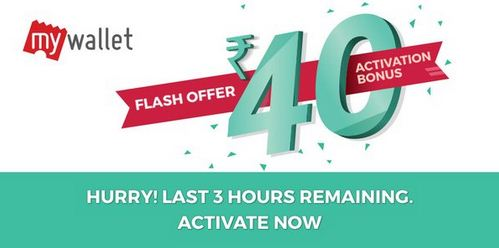 bookmyshow wallet offer 40 bonus