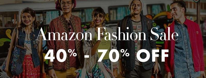 Amazon Fashion Sale - Up to 70% OFF