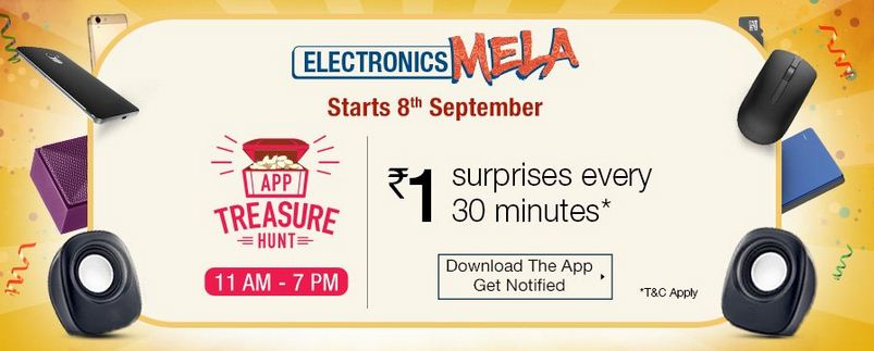 Amazon app treasure hunt contest 8th september