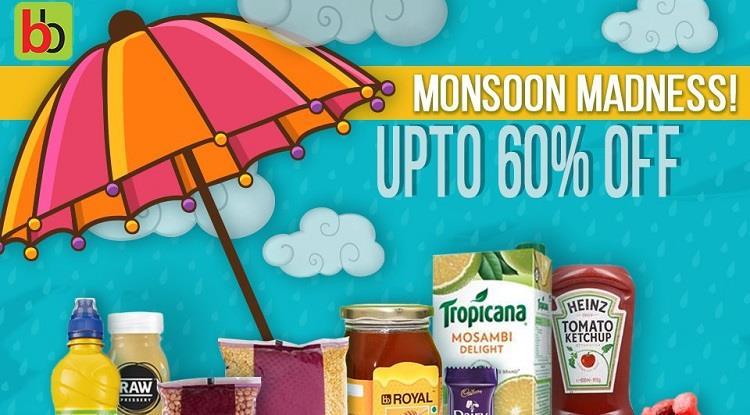 Bigbasket Monsoon Sale
