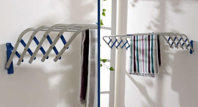 Deneb Tulip Wall Mounting Cloth Dryer on Pepperfry