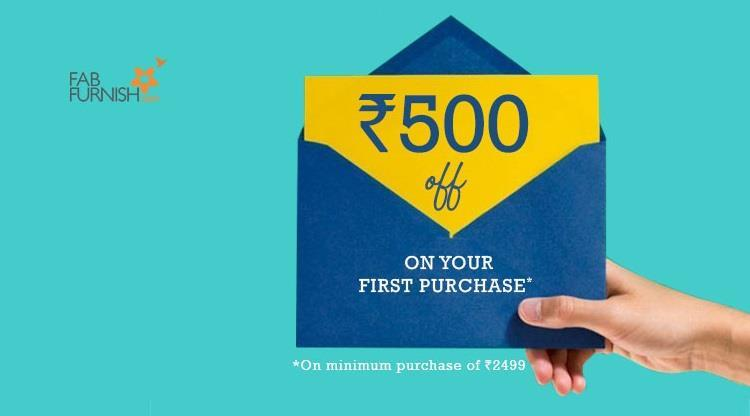 FabFurnish Welcome Offer