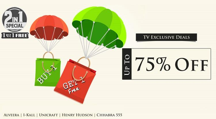 HomeShop18 Exclusive TV Deals BOGO