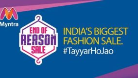 Myntra End of Reason Sale Maha sale