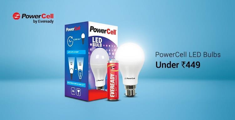 PowerCell LED Bulbs on Flipkart Combos