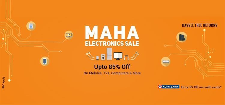 Shopclues Maha Electronics Sale