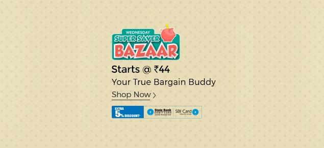 Shopclues Wednesday Super Saver Bazaar Start 33