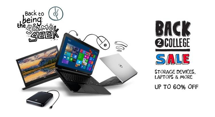 Snapdeal Back 2 College Sale