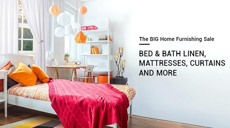 Snapdeal Big Home Furnishing Sale Offers
