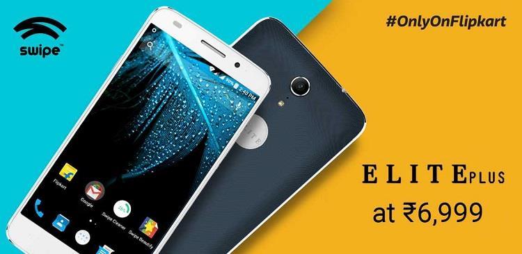 Swipe Elite Plus Smartphone on Flipkart