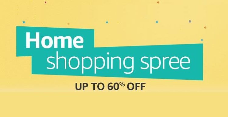 Amazon Home Shopping Spree Offers