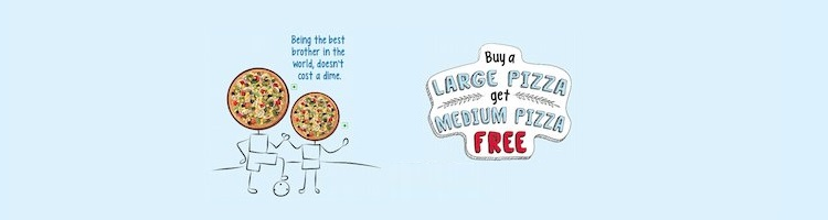 Dominos Pizza Day Offer