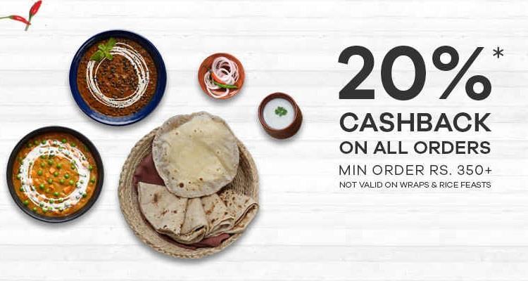 faasos cashback offer flat-20-cashback-on-your-order