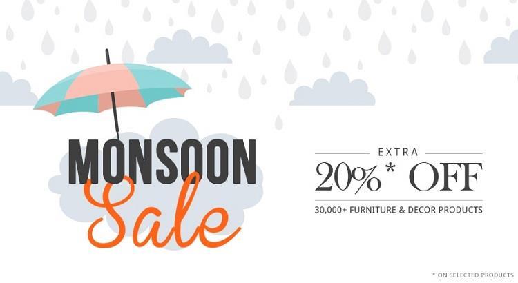 FabFurnish Monsoon Sale Offers