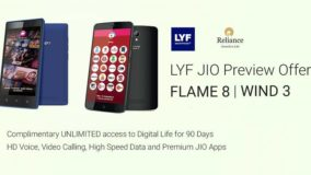 LYF JIO Preview Offer
