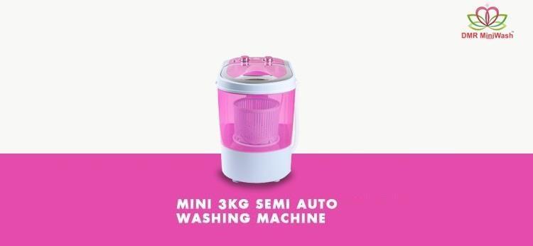 Mini Portable Semi Automatic Washing Machine on HomeShop18