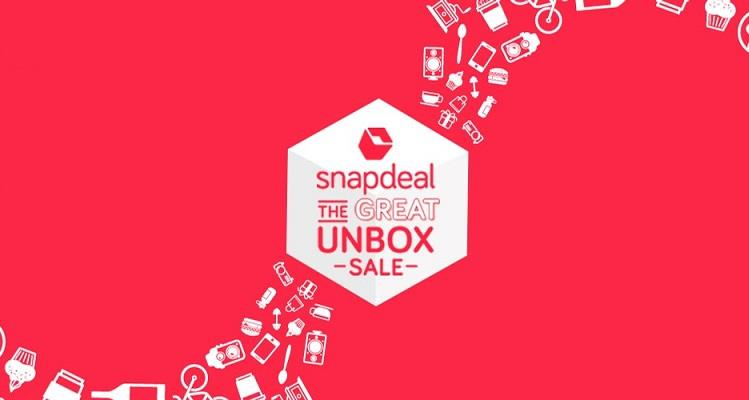 Snapdeal Unbox Sale