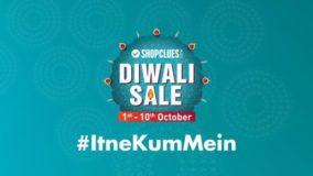 Shopclues Diwali Sale Offers Itne Kum Mein