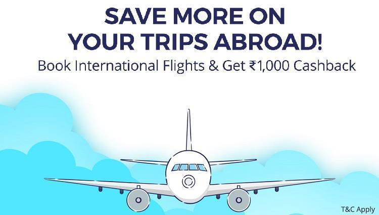 Paytm International Flight Bookings Offer