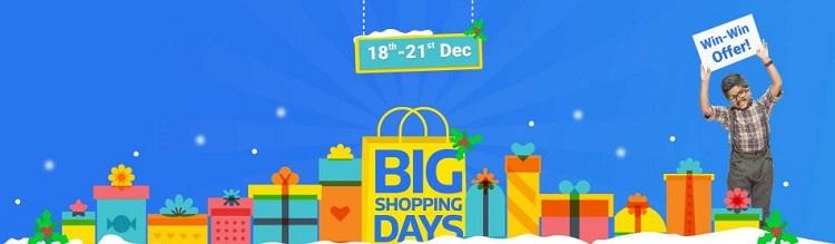 flipkart big shopping days offers