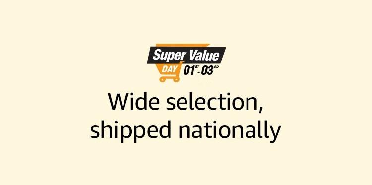 Amazon Super Value Day Offers