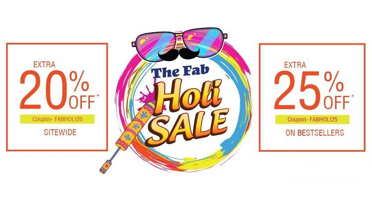 Fabfurnish The Fab holi Sale Offers